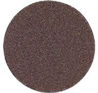 "250mm (10"") (No-hole) aluminium oxide plain backed sanding discs."